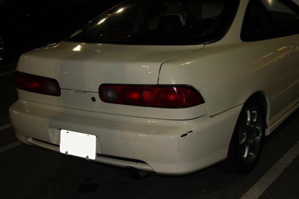 1997 Acura Integra Type-R with 98+ bumper and tail lights