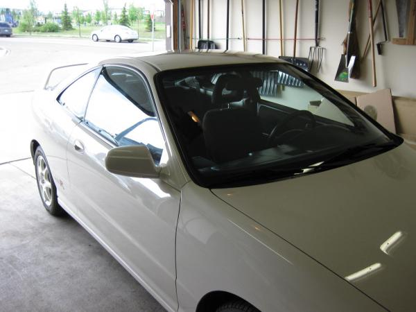 1997 Acura Integra Type-R safely in the garage