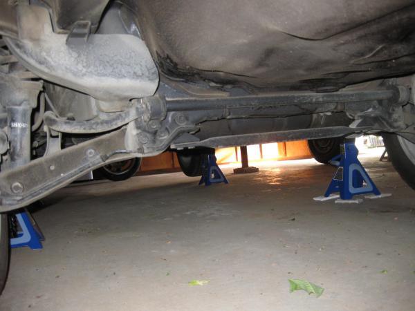 Acura dealer installed undercoating on an Integra TypeR