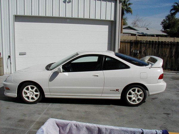 100% Stock 1997 Acura Integra Type-R champ white