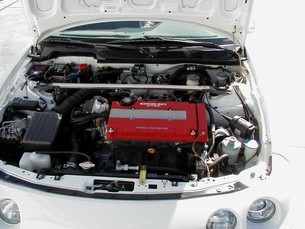 1997 Acura Integra Type-R un-modified engine compartment