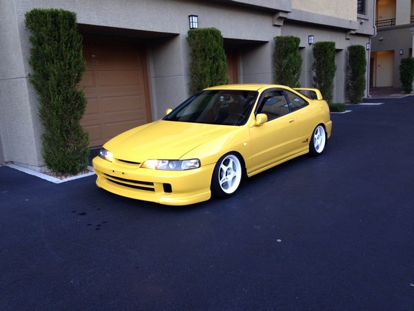 2000 Phoenix Yellow ITR USDM metal JDM front White wheels