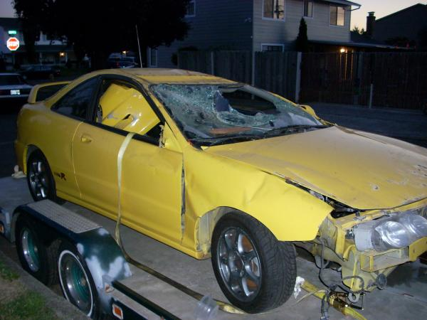 2000 Phoenix Yellow ITR parts car