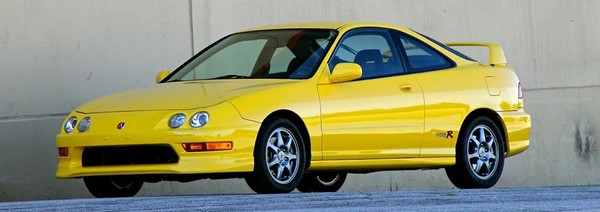Beautiful 2001 Acura Integra Type-R in phoenix yellow
