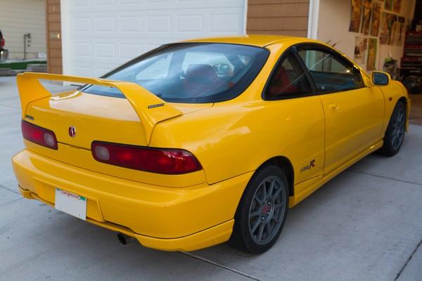 2001 Integra Type R Y-65P, Rio Yellow Pearl