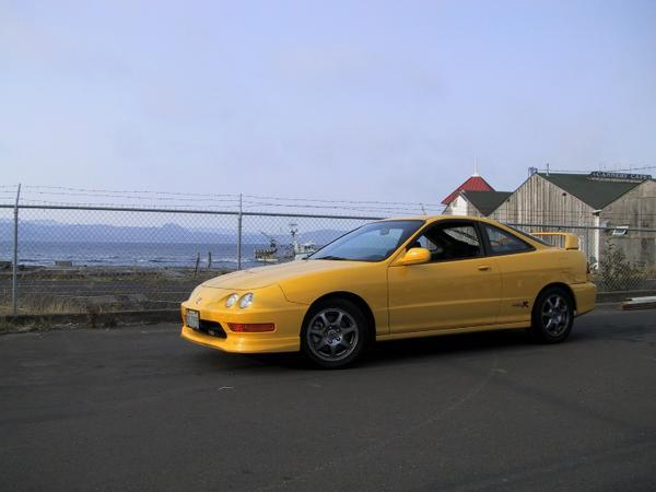 2001 Integra Type R phoenix yellow