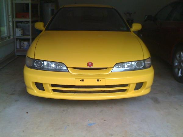 2001 Phoenix Yellow Integra TypeR JDM Front End