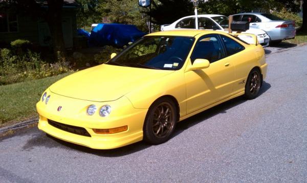 Phoenix Yellow 2001 Acura ITR