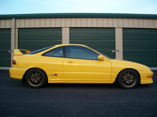 2001 Acura Integra TypeR Profile