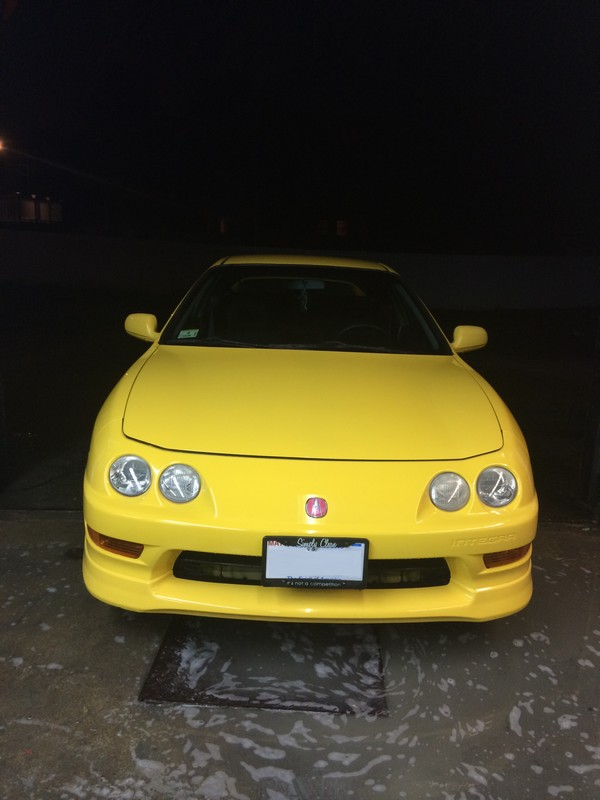 2001 USDM Phoenix Yellow Integra Type-R bath