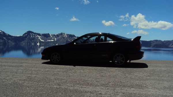 2001 ITR in front of Crater Lake Oregon
