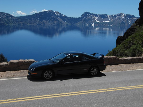 2001 Acura Integra type-r Crater Lake oregon