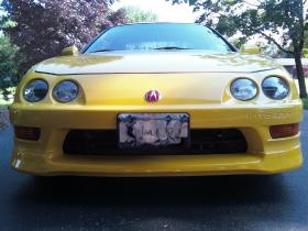 Phoenix Yellow Integra Type-R