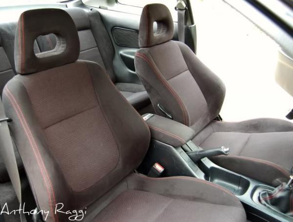 Acura Integra Type-R interior front seats