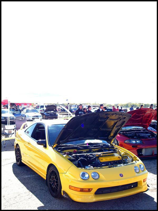Phoenix yellow ITR at a car show