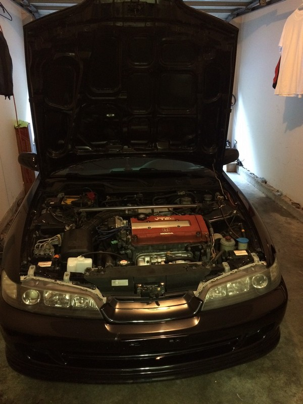 2001 Acura Integra Type-R stock engine