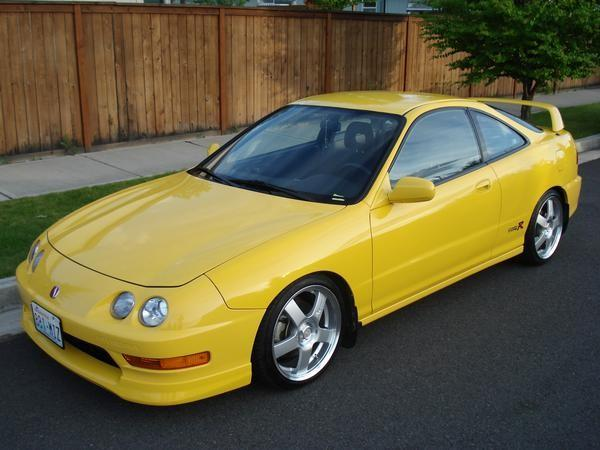 2001 Phoenix yellow Integra Type-R
