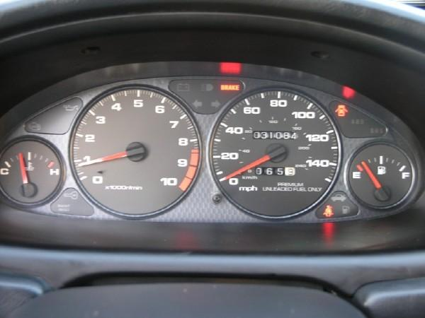 USDM Integra Type-R gauge cluster with low miles!