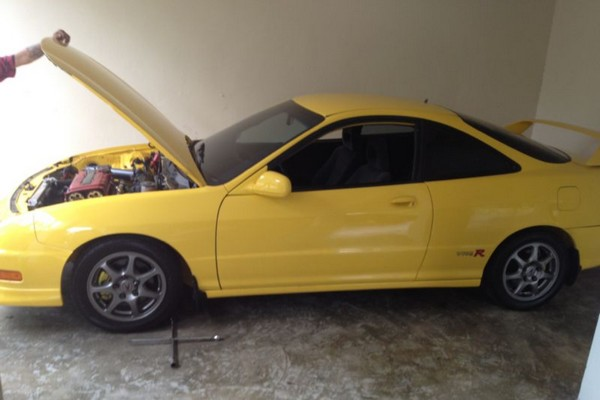 Phoenix Yellow 2001 ITR hood popped