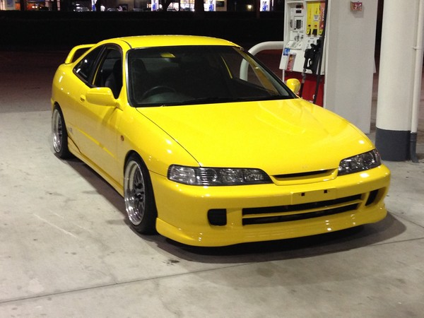 2001 Acura Integra Type-R Phoenix Yellow