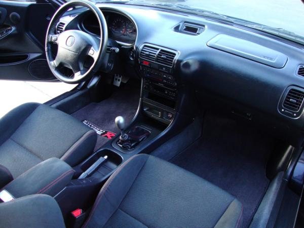 Unmodified 2001 Nighthawk black pearl Acura ITR Interior