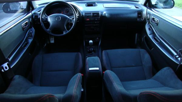 Unmodified Acura Integra Type-R Interior