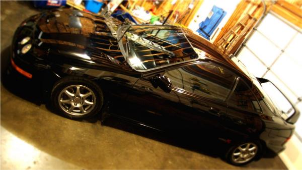 stock 2001 Nighthawk black pearl Acura Integra TypeR