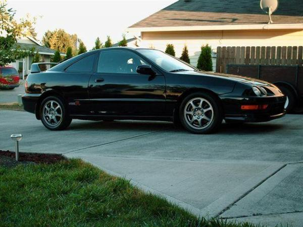 Unmodified 2001 Nighthawk black pearl Acura ITR