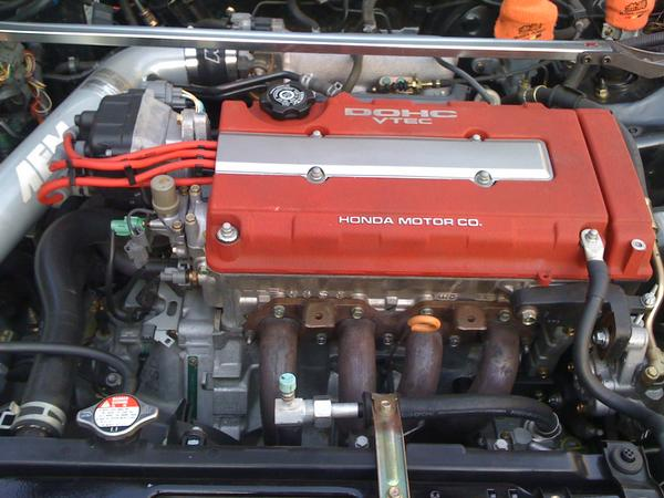 B18c5 in it's 2001 ITR engine bay