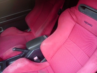 2001 USDM ITR with JDM Recaro seats