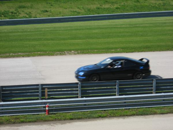 2001 ITR racing at the track