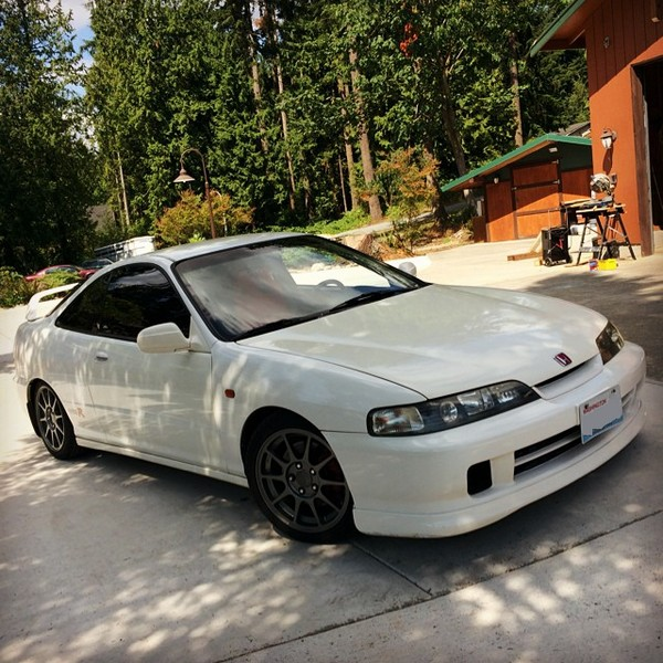 2001 Acura Integra Type-R JDM Front end