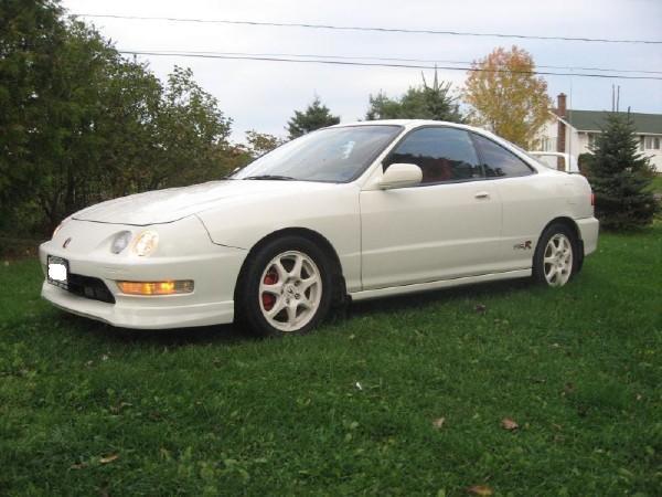 2001 Championship White Integra Type-R