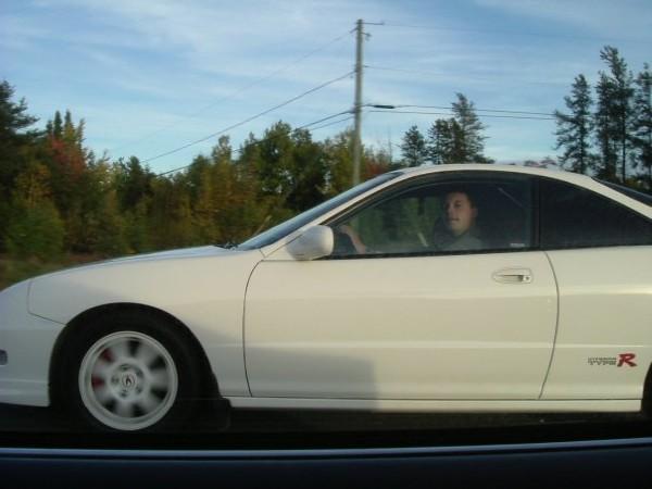 2001 Championship White Integra Type R