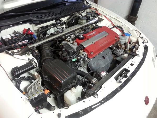 2001 Canadian Integra Type-R engine bay