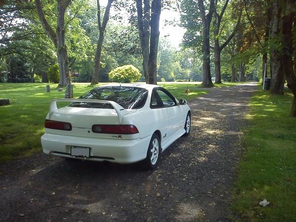 2001 Championship White Acura Integra Type-R Mugen Gen 1 spoiler/wing