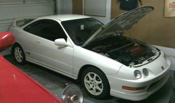 Rare 2001 Championship White Acura Integra Type-R