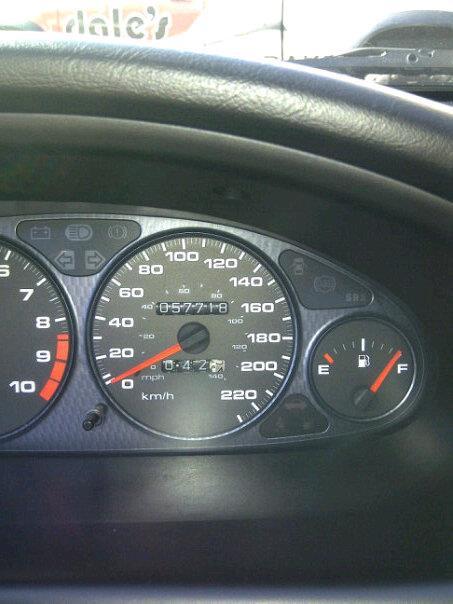 2001 CDM (Canadian) Acura ITR gauge cluster