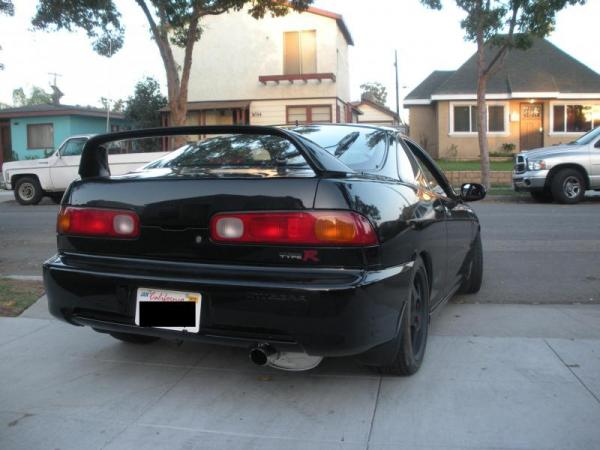 nighthawk black pearl '01 USDM Integra type-R rear end