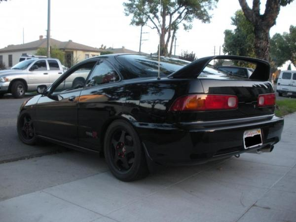 2001 Nighthawk black pearl Integra type-R with spoon rims