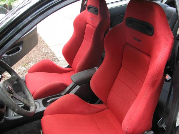 Integra TypeR with red recaro seats