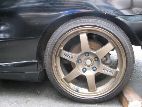 2001 Integra Type-R with Volk/Rays TE37's