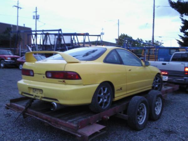 2001 PY ITR bought from iaai auction