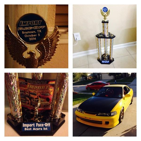 2001 Phoenix yellow ITR Best Acura winner