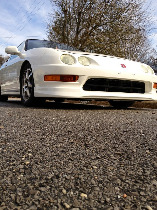 1998 championship white Acura Integra Type-R USDM Front end
