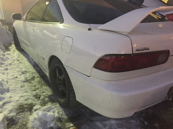 1998 Acura ITR Championship White in Snow