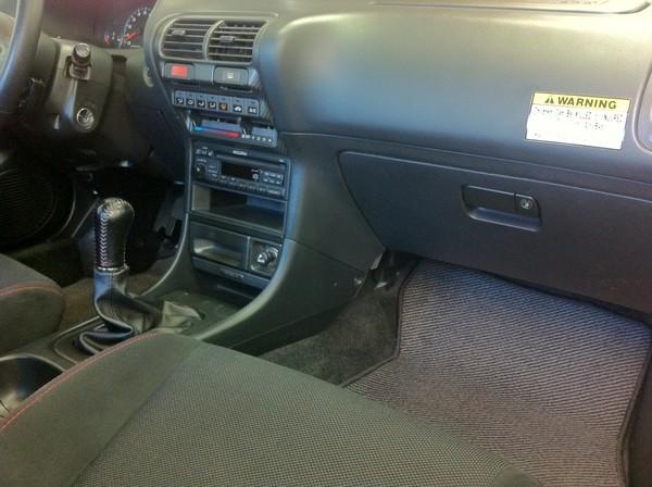 1998 championship white Acura ITR mint interior