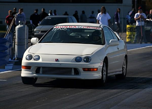 Championship white Integra Type R launching
