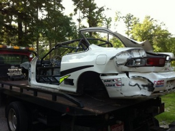 1998 Acura Integra Type R wrecked Race Car