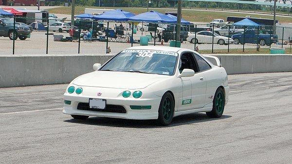 98 Integra Type-R racecar
